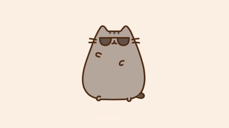 Pusheen the cat Кот Пушин