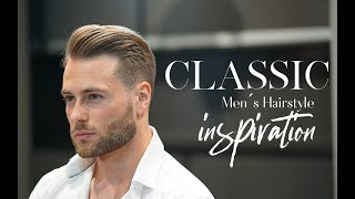 Fresh summer haircut ★ Men's classic Hairstyle Inspiration NEW 2018