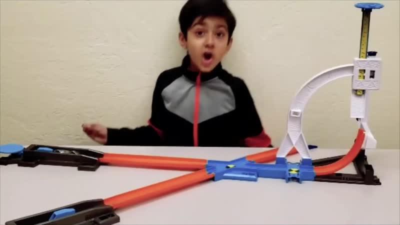 Hot Wheels Track Builder System Stunt Kit Play-set