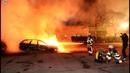 SCHWERE KRAWALLE Dutzende Autos in Schweden in Brand gesetzt