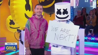 Marshmello - Happier ft. Bastille (Live Performance on Good Morning America GMA 7 November 2018)