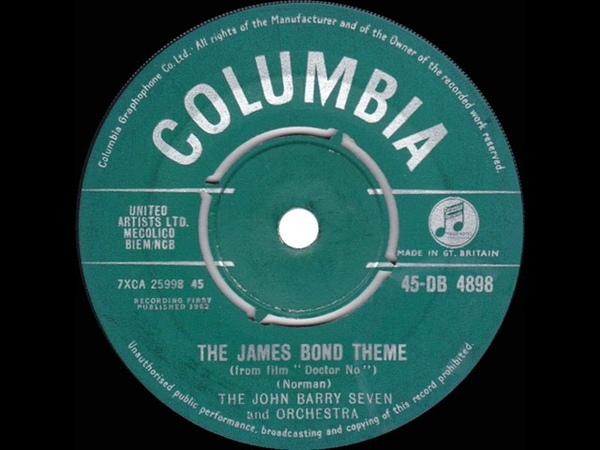 1962 John Barry Seven - James Bond Theme