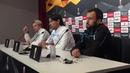 Simone Inzaghi y Badelj, en la Previa del Sevilla Lazio