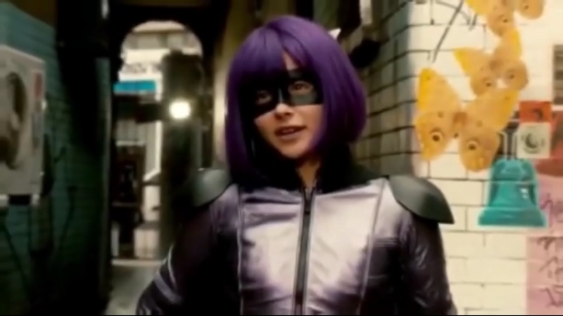 Chloe Grace Moretz|| Kick Ass || Hit-girl