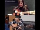 Yoonrose and guitar