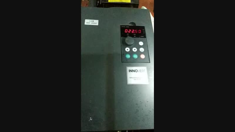 Ремонт преобразователя частоты Innovert 11 кВт