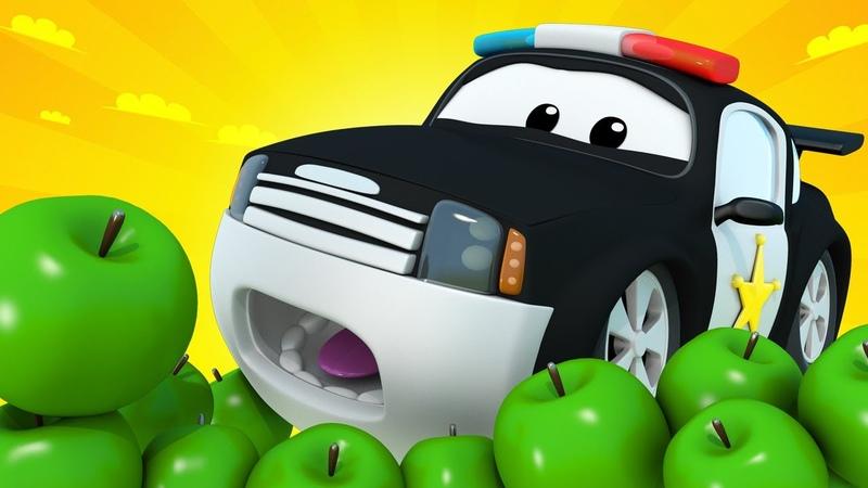 Авто Патруль - Сюрприз ко Дню рождения Мэта - Автомобильный Город 🚓 🚒 детский мультфильм