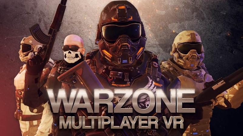 WARZONE VR - Multiplayer - Reveal (Teaser) Trailer   Oculus Rift   HTC Vive   PlayStation®VR