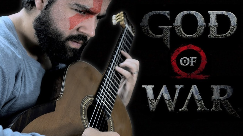 GOD OF WAR MEETS CLASSICAL GUITAR (BeyondTheGuitar)