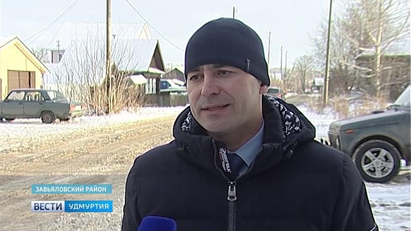 Пять дней искали место порыва деревенского водопровода в Завьяловском районе