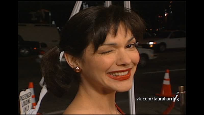 Laura Harring at the 'Lost in Space' Premiere at the Cinerama Dome at ArcLight Cinemas in Hollywood, California on March 29, 199