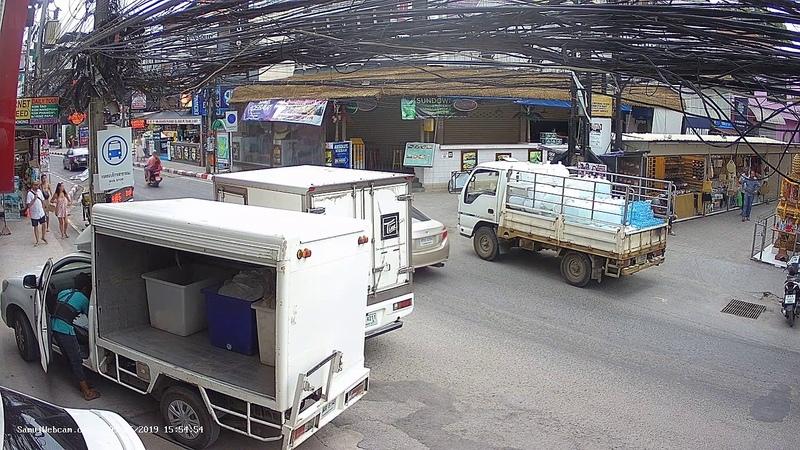 Bondi Hotel 1 Live Stream From Chaweng Koh Samui Thailand Live HD Webcam Samui Webcam