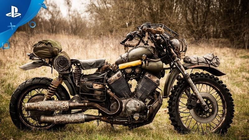 Days Gone | Recreating Deacons Bike | PS4