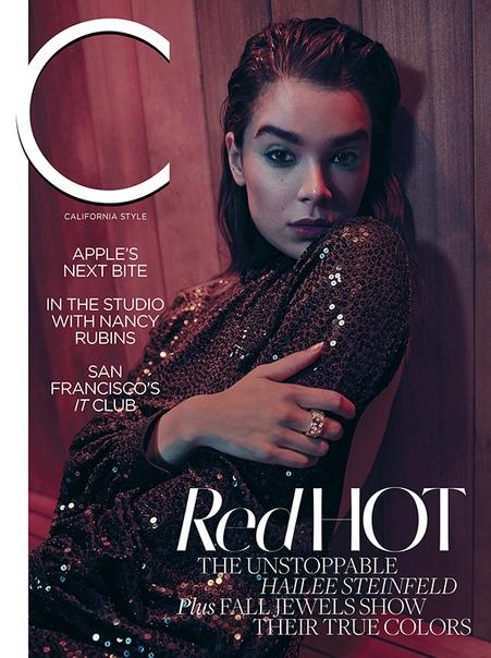 Hailee Steinfeld C Magazine, 2018