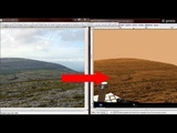 Simulated Mars Environment on Devon Island Curiosity Images are NASA fakes