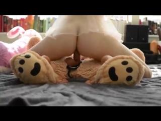 Petite young blonde riding a teddy [throat solo blowjob dildo webcam chaturbate bongacams webcam teen anal]