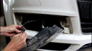 Замена лампочки переднего габарита на АУДИ Q7 2008 AUDI Q7 3,0 дизель
