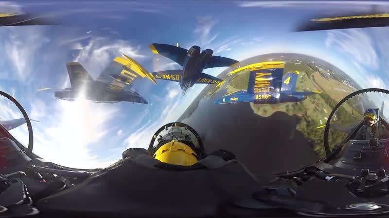 VR 360 Формула 1 в кабине пилота