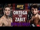 UFC 240! БРАЙАН ОРТЕГА - ЗАБИТ МАГОМЕДШАРИПОВ! ДОРОГА К ТИТУЛУ ЧЕМПИОНА ПОЛУЛЕГКОГО ВЕСА