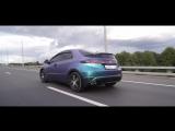 Покраска Honda Civic в Plasti Dip Andromeda Chameleon под матовый лак