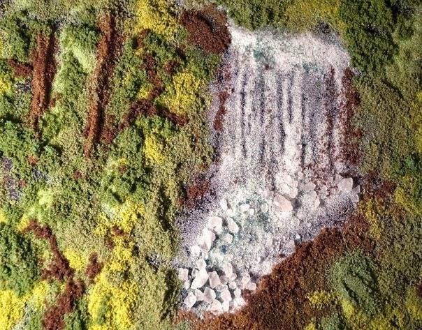 Cоль и специи вместо красок Это плоды необычного творчества американской художницы и фотографа Келли МакКоллам. Свои работы Келли создает из кулинарных специй: перца, корицы, шафрана, кунжута,