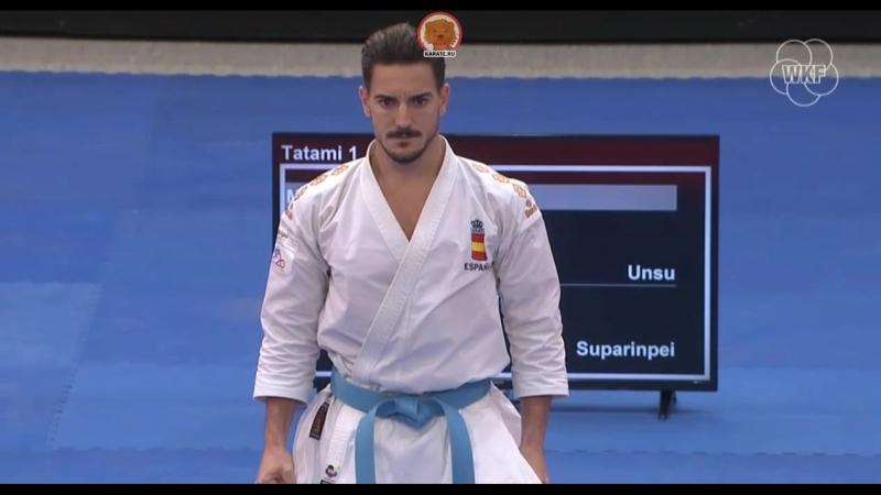 Бронзовый финал мужского ката German Open 2018: Казумаса Мото (Япония) - Дэмиан Куинтеро (Испания)