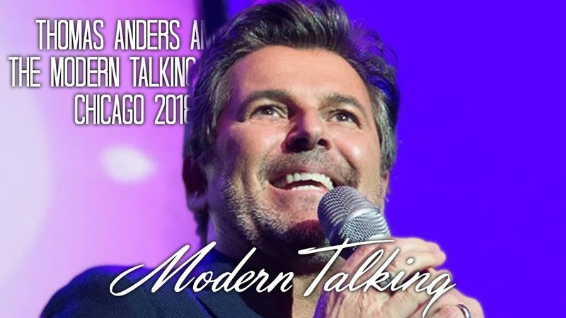 Thomas Anders Modern Talking Band Chicago 2018 Full Concert