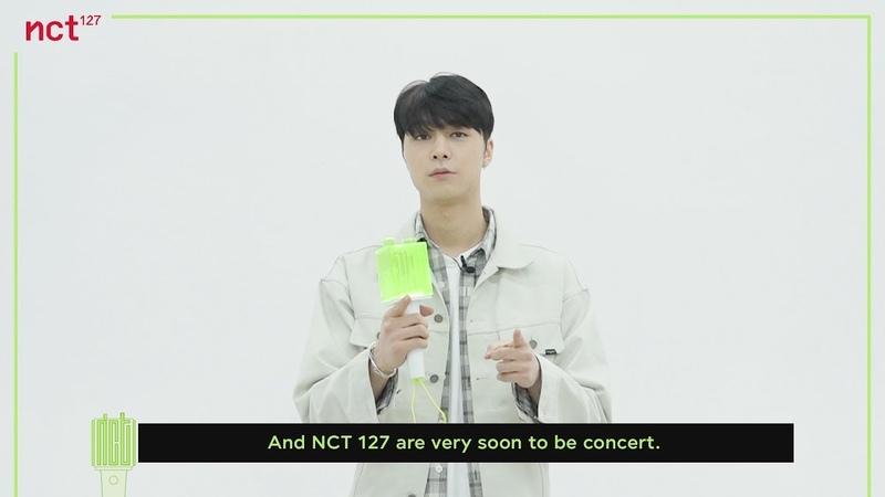 OFFICIAL FANLIGHT User Manual|NCT 127 WORLD TOUR 'NEO CITY The Origin'