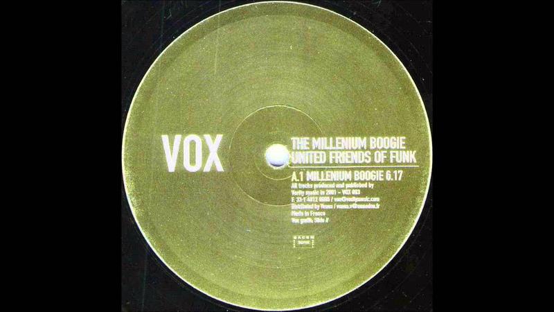 United Friends of Funk Millenium Boogie