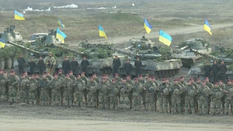 На Житомирщині відбулися масштабні навчання Десантно-штурмових військ