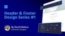 WordPress Custom Header Footer 1 Law Firm