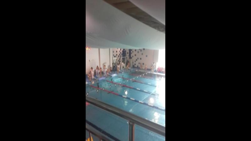 2-е соревнования по плаванию