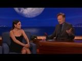 Mila Kunis Thinks Russian Sounds Like Klingon - CONAN on TBS