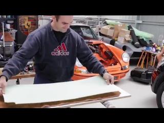 Восстановил Porsche 911 своими руками