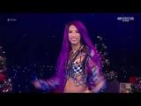 #SBMKV_Video RAW 24.12.18 Mickie James, Dana Brooke &amp Alicia Fox vs Sasha Banks , Bayley &amp Ember Moon