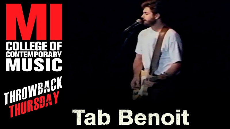 Tab Benoit Throwback Thursday From the MI Library
