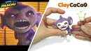 Pokemon Crazy Aipom Clay : Detective Pikachu (Warner Bros. Pictures) - Clay art No.0014