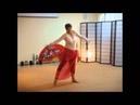 ученица студии танца - Валентина, урок танца - восточное румба, rumba belly dance