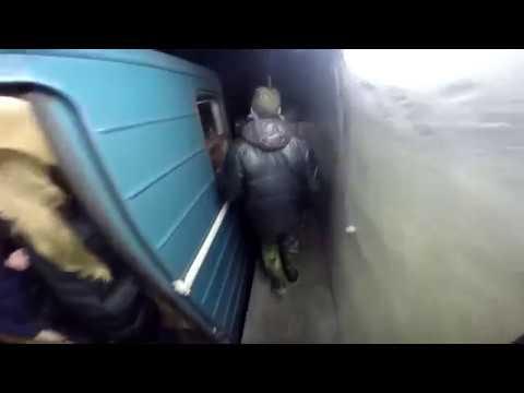 Зацепинг в метро 2016 subway surfing trainsurfing