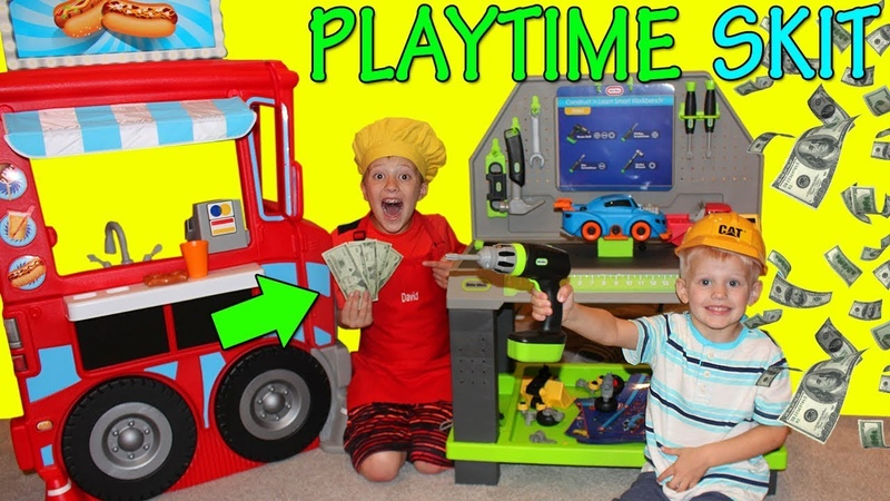 We Opened a Hot Dog Stand! Earning Real Money!