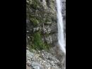 Купание в Софийском водопаде.Архыз