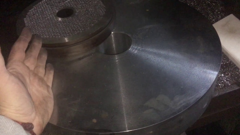 Заготовка 402 мм Пеллетная Матрица Гранулятора Едет В Беларусь Preparation of 402 mm Pellet Granul