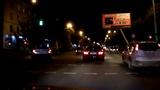 Усть-Каменогорск ночной проспект независимости 2017 год