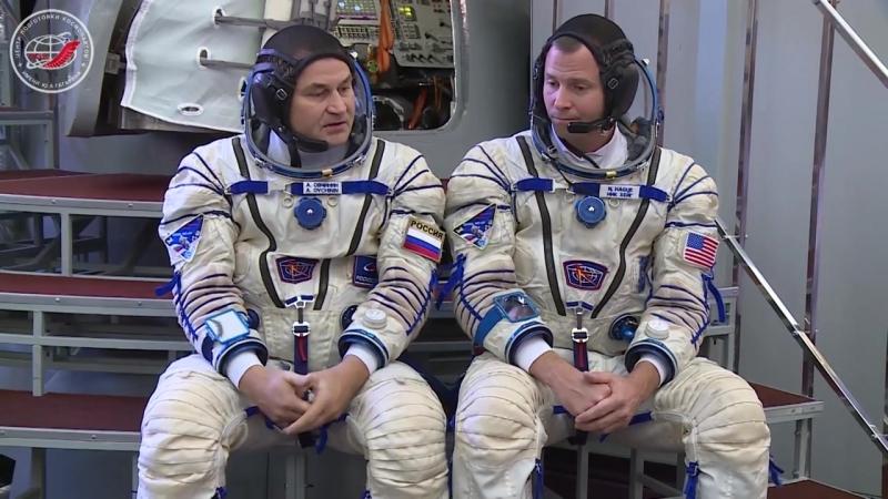 В ЦПК продолжаются экзаменационные комплексные тренировки основного экипажа МКС-57_58