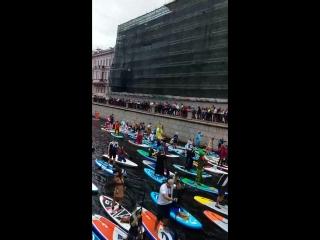 20180812_123046 Парад сап-сёрферов у Итальянского моста. Третий фестиваль