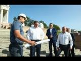 Губернатор Андрей Бочаров побывал с инспекцией на объектах Центрального района