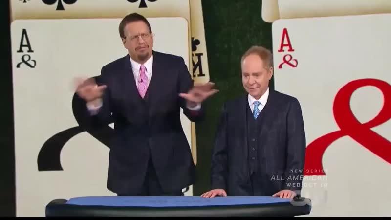 Penn and Teller Fool Us 5 сезон 9 эпизод Tellers Gambling Problem