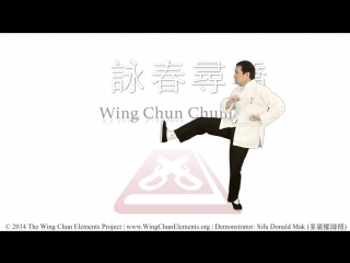 Вин Чун. Мастер Дональд Мак. Форма Чам Киу (詠春尋橋)