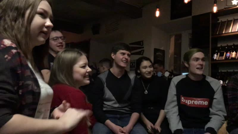 Василий Елисеев Акустический трибьют Noize MC Bukowski pub 19 01 19 part 6