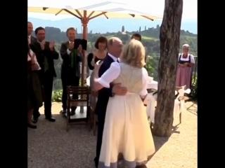 Владимир Путин станцевал на свадьбе Главы МИД Австрии
